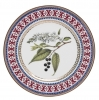 "Decorative Wall Plate Bird-Cherry Tree 10.6""/270 mm Lomonosov Imperial Porcelain"