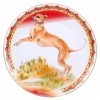 "Decorative Wall Plate 2018 Year of Dog Italian Greyhound 7.7""/195 mm Lomonosov Porcelain"