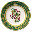 "Decorative Wall Plate 10.4""/265 mm Foxberry Lomonosov Imperial Porcelain"
