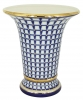 Flower Vase Empire Style Classic of Petersburg Lomonosov Imperial Porcelain