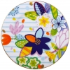 "Lomonosov Imperial Bone China Porcelain Dessert Cake Plate Bouquet for Vera 9.8""/250 mm"