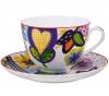 Lomonosov Imperial Porcelain Bone China Tea Set 2pc Bouquet for Tatiana Spring-2