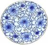 "Lomonosov Imperial Porcelain Cake Dessert Plate Bindweed 7""/180 mm"
