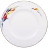 Lomonosov Imperial Porcelain Cake Dessert Plate Flame Flower