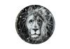 Lomonosov Porcelain Decorative Wall Plate Totem Animal Lion 11.8 in 300 mm