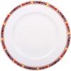 """Lomonosov Imperial Porcelain Dinner Plate Flame Flower 9.1""""/230 mm"""