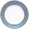 """Lomonosov Imperial Porcelain Flat Dinner Plate Cobalt Cell 10.6 """"/270 mm"""