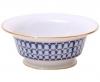 Lomonosov Imperial Porcelain Salad Bowl (2 serv.) Alexandria Classic of Petersburg 9.1 fl.oz/270 ml