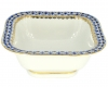Lomonosov Imperial Porcelain Salad Bowl Cobalt Net (4 serv.) 23.7 fl.oz/700 ml
