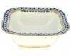 Lomonosov Imperial Porcelain Salad Bowl Cobalt Net (4 serv.) 23.7 fl.oz/700 ml