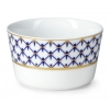 Lomonosov Porcelain Salad Bowl Cobalt Net 16.9 fl.oz 500 ml