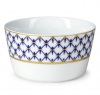 Lomonosov Porcelain Salad Bowl Cobalt Net 27 fl.oz 800 ml