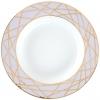 Lomonosov Porcelain Soup Plate Frosty Fairytale