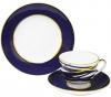 Lomonosov Imperial Porcelain Tea Cup Set 3pc Spring Cocoon 7.8 oz/230 ml