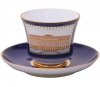 Lomonosov Imperial Porcelain Tea Set Cup and Saucer Classic of Petersburg #1