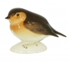 Robin Bird Small Lomonosov Imperial Porcelain Figurine
