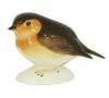 Robin Bird Small Lomonosov Imperial Porcelain Figurine
