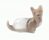 Scotty Dog Tiny Lomonosov Porcelain Figurine