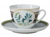 Lomonosov Imperial Porcelain Tea Cup Set Spring Foxberry 7.8 oz/230ml