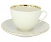 Lomonosov Imperial Porcelain Tea Cup Set Spring Snow White 7.8 oz/230 ml