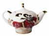 Lomonosov Imperial Porcelain Tea Pot Red Horse 8.5 oz/250 ml