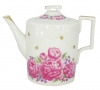 Lomonosov Imperial Porcelain Tea Pot Romantic Date 20.3 fl.oz/600 ml