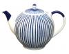 Lomonosov Imperial Porcelain Porcelain Teapot Tulip Frenchman 3 Cups 20 oz/600 ml