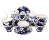 Lomonosov Imperial Porcelain Tea Set Church Bells 6/15