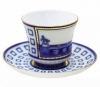 Lomonosov Imperial Porcelain Tea Set Cup and Saucer Anichkov Bridge 7.4 oz/220 ml