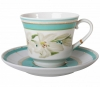 Lomonosov Imperial Porcelain Tea Set Cup and Saucer Banquet North Aurora 7.4 oz/220 ml
