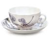 Imperial Lomonosov Porcelain Tea set Cup and Saucer Dragonfly Whisper 2pcs