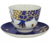 Lomonosov Imperial Porcelain Tea Set Cup and Saucer Golden Pomegranate 18.8 fl.oz/350 ml