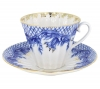 Lomonosov Imperial Porcelain Cup and Saucer Radiant Tenderness 7.95 oz/235 ml