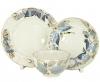 Lomonosov Imperial Porcelain Tea Set 3pc Tulip Moonlight 8.45 oz/250 ml