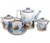 Lomonosov Imperial Porcelain Tea Set Winter Fun 4/10