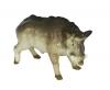 Tusker Wild Boar Pig Lomonosov Porcelain Figurine