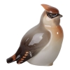 Waxwing Bird #1 Lomonosov Imperial Porcelain Figurine