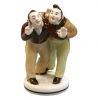 Lomonosov Porcelain Figurine Gogol Dead Souls BOBCHINSKIY-DOBCHINSKIY