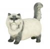 Persian Cat Beige Lomonosov Porcelain Figurine