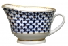 Large Cobalt Net Gravy Boat 13.5 fl.oz/400 ml