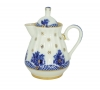 Lomonosov Imperial Porcelain Creamer Orthodox Basket 7.4 oz/220 ml
