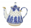 Lomonosov Imperial Porcelain Porcelain Teapot BASKET 5-Cup 25 oz/750 ml