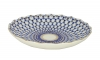 "Lomonosov Imperial Porcelain Cake Сookie Biscuit Pastry Dish Cobalt Net 8.5"""