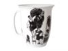 Lomonosov Bone China Porcelain Mug Opened Hairdresser 14.5 fl.oz/430 ml