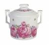 Lomonosov Imperial Porcelaine Sugar Bowl Romantic Date 13.5 oz/400 ml