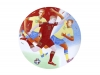 "Decorative Wall Plate Summer Olympic Games Football 10.8""/275 mm Lomonosov Imperial Porcelain"