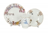 Lomonosov Imperial Porcelain Bone China Cup and Saucer May Ballet Romeo and Juliet 5.6 fl.oz/165 ml 3 pc