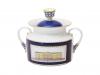 Lomonosov Imperial Porcelaine Sugar Bowl Classic of Petersburg 18.3 oz/540 ml
