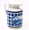 Lomonosov Imperial Porcelain Creamer Banquet Bridges of Petersburg 11 oz/325 ml