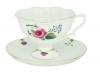 Lomonosov Imperial Bone Cnina Tea Set Cup and Saucer Natasha Bride 2pc